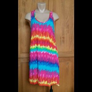 Mix Co Tye Tie Dye Racer Back Dress